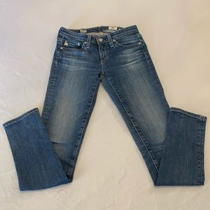 AG ADRIANO GOLDSCHMIED The Stilt Jeans, Size 24